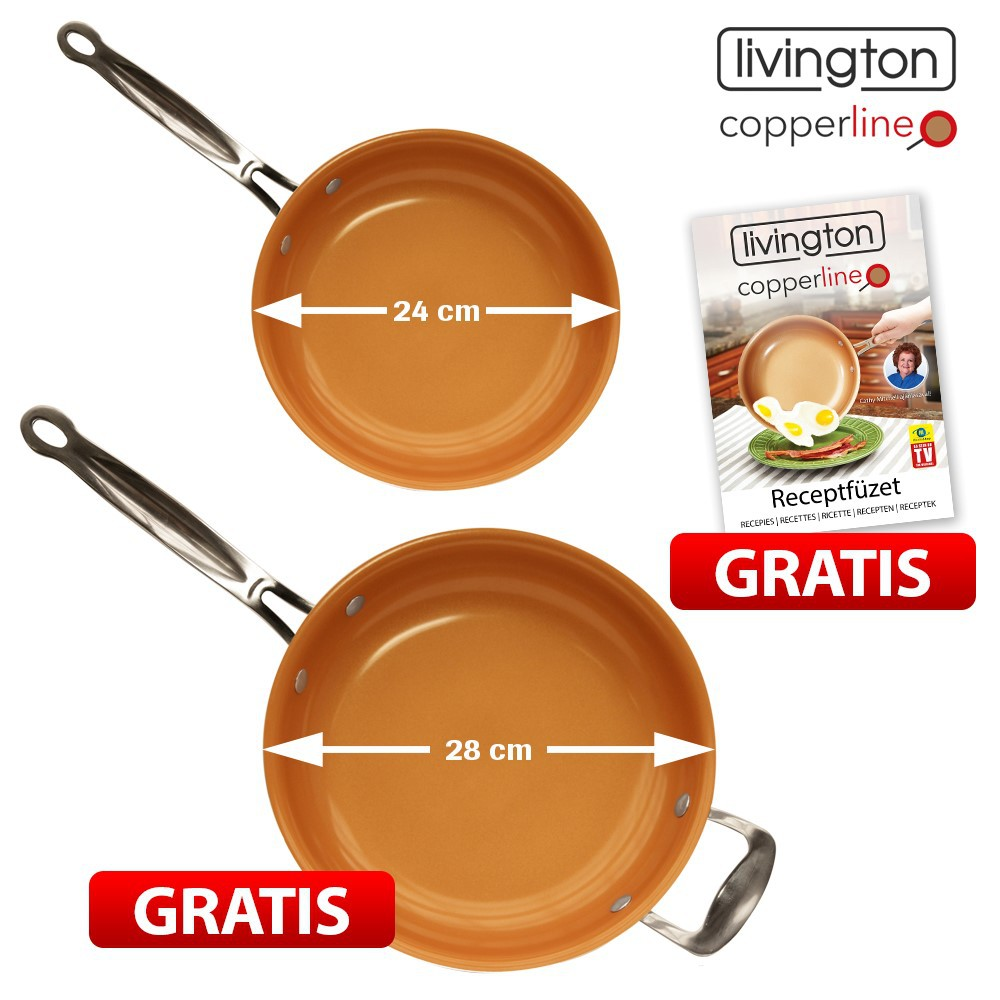 livington copperline este o tigaie care isi merita pe deplin banii