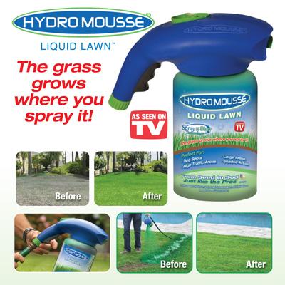 hydro mousse este ideal pentru gazonul dumneavoastra